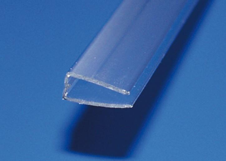 U-Profil Polycarbonat für 6mm Platten, 6000mm