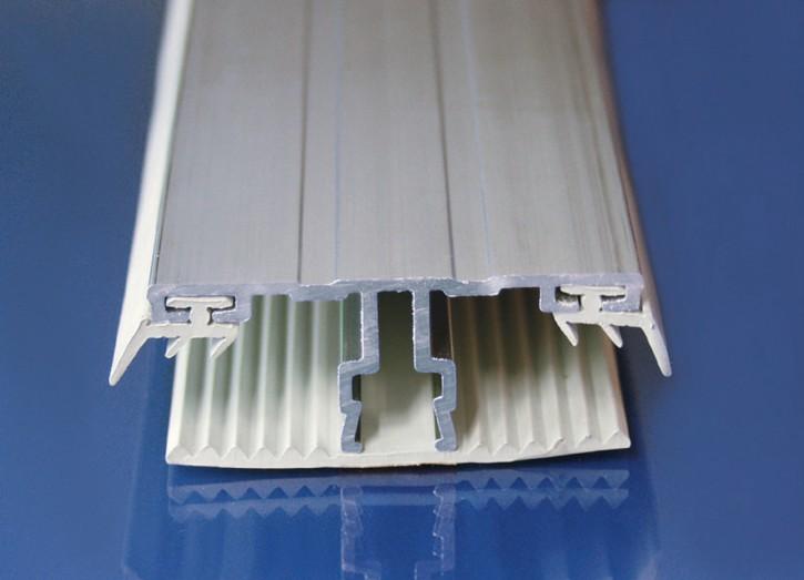 Aluminium System mit Weichgummi, Mittelprofil