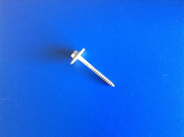 Schlüsselschrauben V2A 6 x 60 mit Dichtscheibe